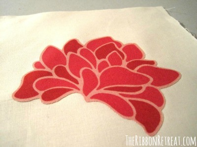 How To Applique - {The Ribbon Retreat Blog}