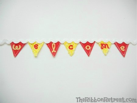 How To Applique Letters - {The Ribbon Retreat Blog}