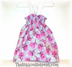 How To Make A Shirred (Gathered) Dress - {The Ribbon Retreat}