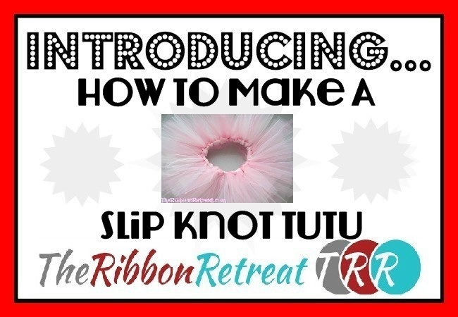 How To Make A Slip Knot Video - The Ribbon Retreat Blog