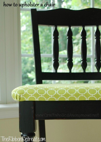 How To Upholster Dining Room Chairs - {The Ribbon Retreat Blog}