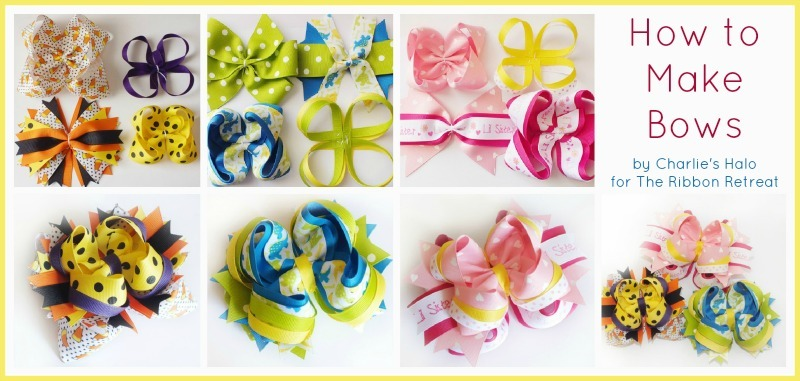 How to Make Bows: Twisted Boutique, Pinwheel, Surround Loops - and how ...
