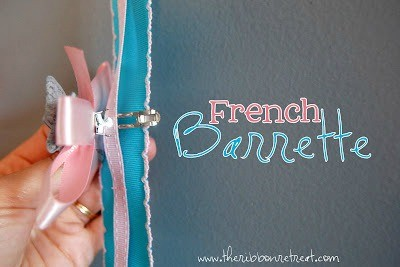 Perfect for French Barrettes!