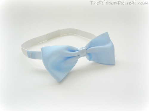 Infant Bow Tie - {The Ribbon Retreat Blog}