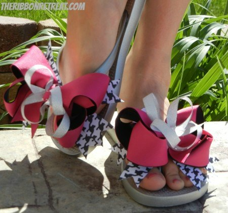 Interchangeable Flip Flops - {The Ribbon Retreat Blog}
