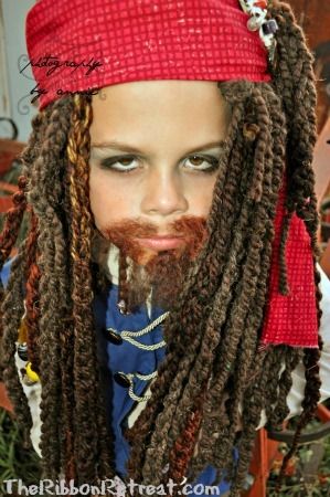 Jack Sparrow and His Girly Pirate Crew - {The Ribbon Retreat Blog}