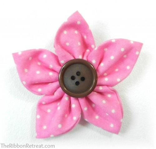 Kanzashi Flower Maker - {The Ribbon Retreat Blog}