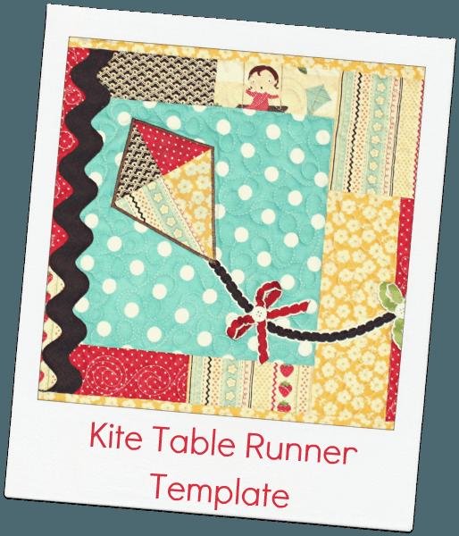 table  template Ribbon Table The  runner  Template Kite Retreat Runner Blog