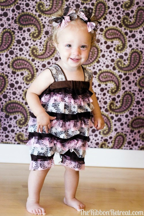 Lace Petti Romper Update - {The Ribbon Retreat Blog}