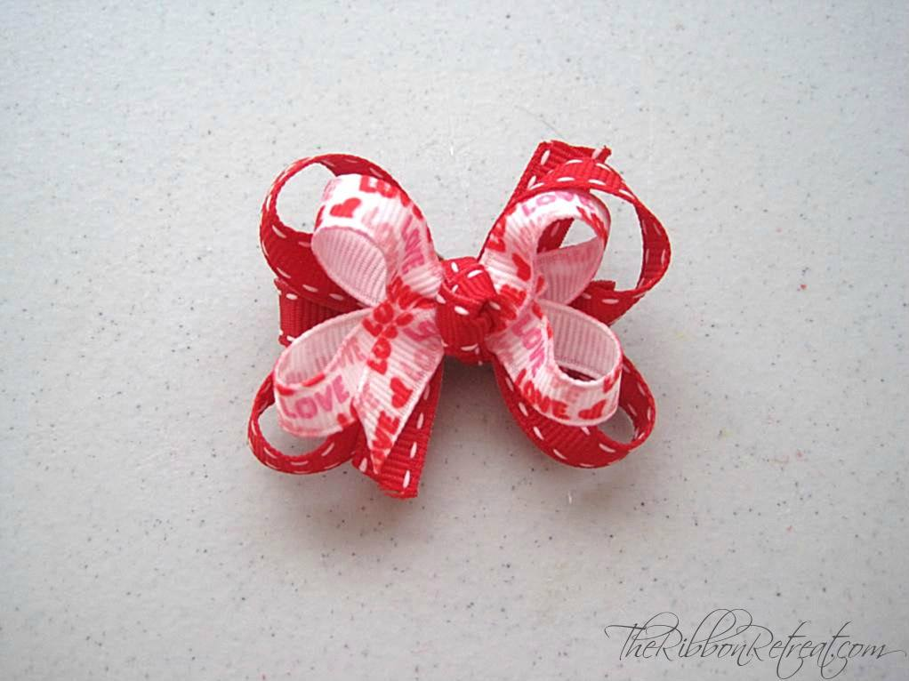 Little Love Bow - {The Ribbon Retreat Blog}