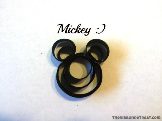 Minnie Mouse Ribbon Sculpture Tutorial