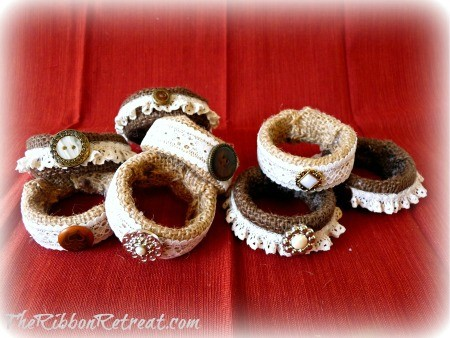 Napkin Rings - {The Ribbon Retreat Blog}