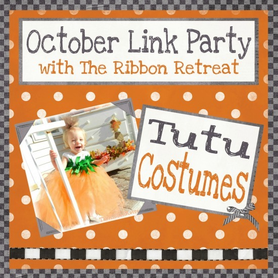 October Link Party with The Ribbon Retreat: Tutu Costumes - {The Ribbon Retreat Blog}