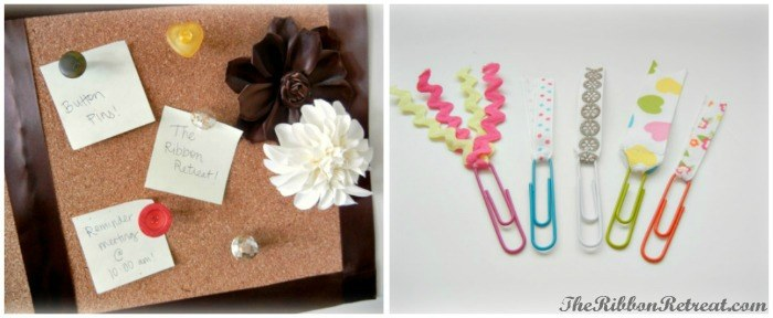 Office Supplies Makeover - {The Ribbon Retreat Blog}