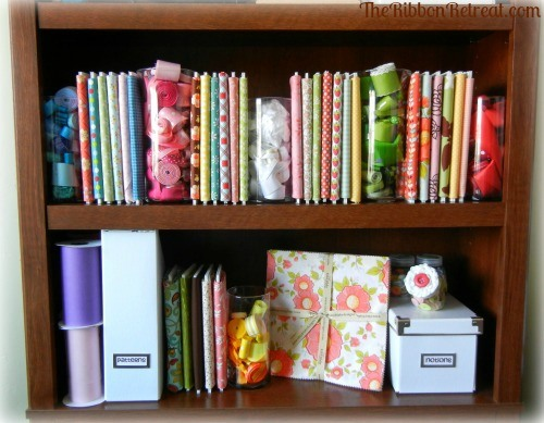 Organize Your Fabric - {The Ribbon Retreat Blog}