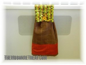 Oven Towel Tutorial - {The Ribbon Retreat Blog}