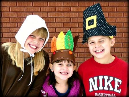 Kindergarten Indian And Pilgrim Craft To Wear For Kids