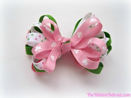 Patty's Girl Bow - {The Ribbon Retreat Blog}