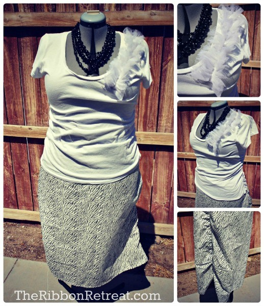 Make your own cute Pencil Skirt with our tutorial!