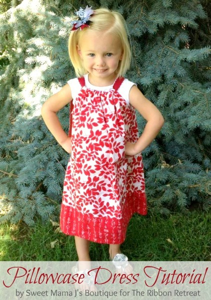 Pillowcase dresses are just too cute! And super easy too!