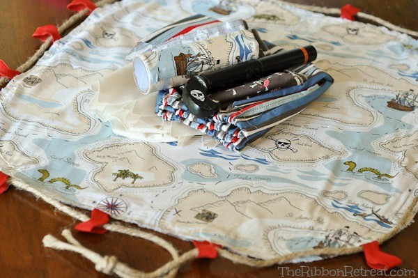 Pirate Costume and Play Kit - The Ribbon Retreat Blog