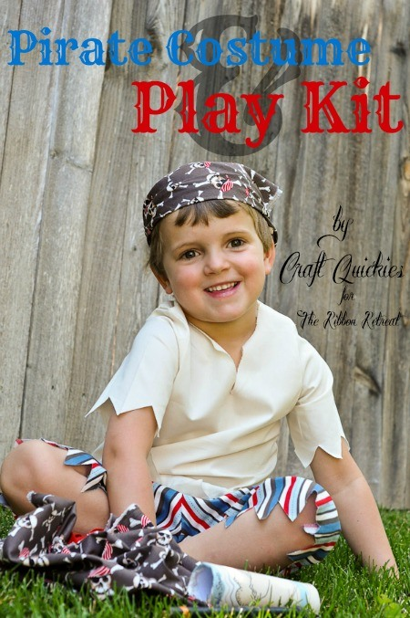 Pirate Costume and Play Kit - The Ribbon Retreat