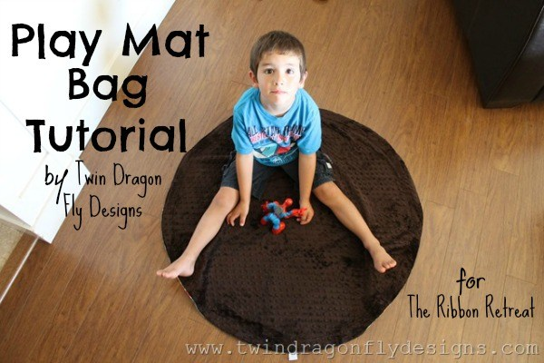 Play Mat Bag Tutorial - The Ribbon Retreat Blog