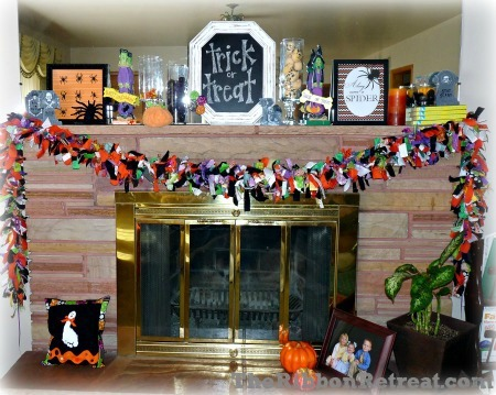 Ragamuffin Garland - {The Ribbon Retreat Blog}