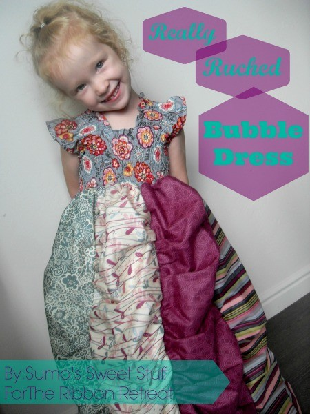 Really Ruched Bubble Dress - The Ribbon Retreat Blog