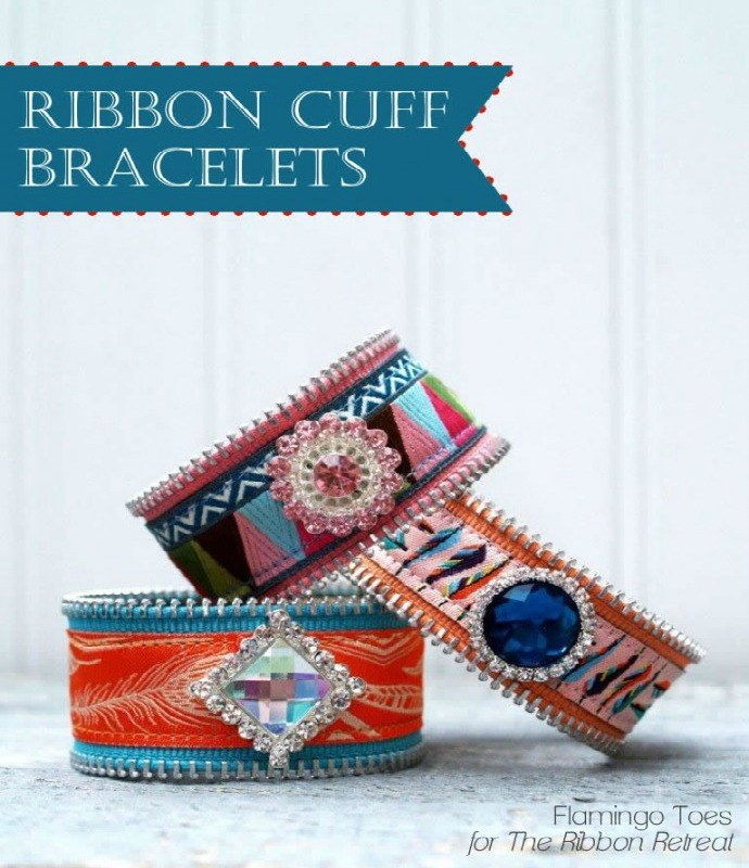 Ribbon Cuff Bracelets - The Ribbon Retreat Blog