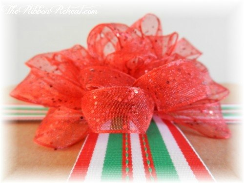 Ribbon Embellished Christmas Packages - {The Ribbon Retreat Blog}