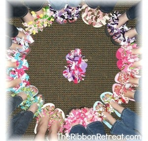 14fb855125c87 Ribbon Flip Flops -  The Ribbon Retreat Blog