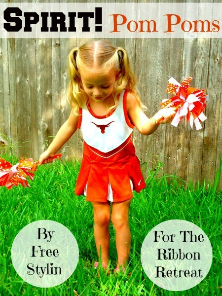 Ribbon Spirit Pom Poms - The Ribbon Retreat Blog