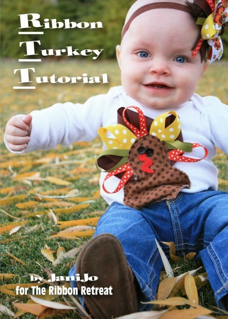 Ribbon Turkey Tutorial - The Ribbon Retreat Blog