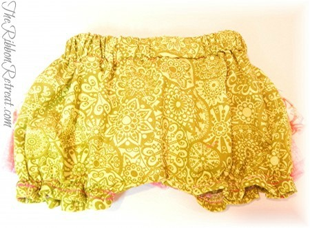 Ruffle Butt Bloomers - {The Ribbon Retreat Blog}