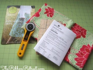 Sewing A Skirt - {The Ribbon Retreat Blog}