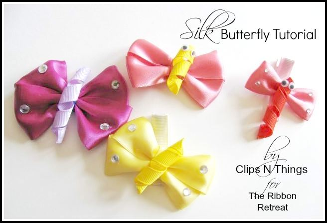 Silk Butterfly Tutorial - The Ribbon Retreat Blog