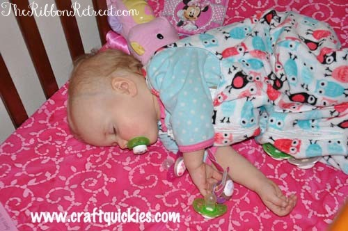 Sleep Sack Tutorial - The Ribbon Retreat Blog