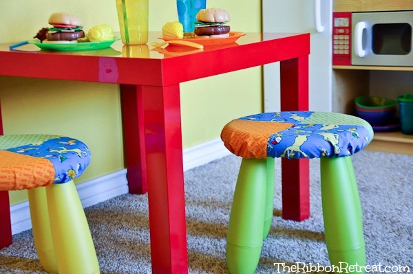 Stool Cover - The Ribbon Retreat Blog