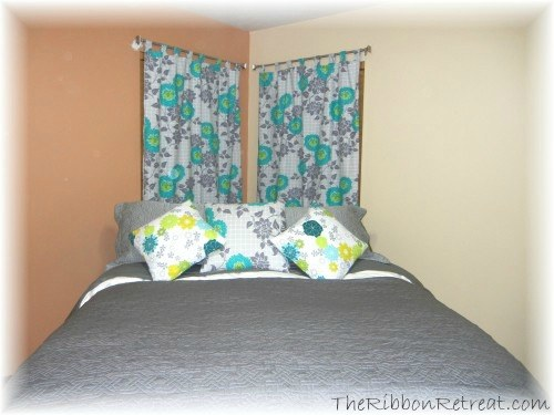 Super Easy Curtains - {The Ribbon Retreat Blog}