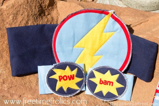 Super Hero Capes - The Ribbon Retreat Blog