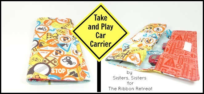 Take and Play Car Carrier - The Ribbon Retreat Blog