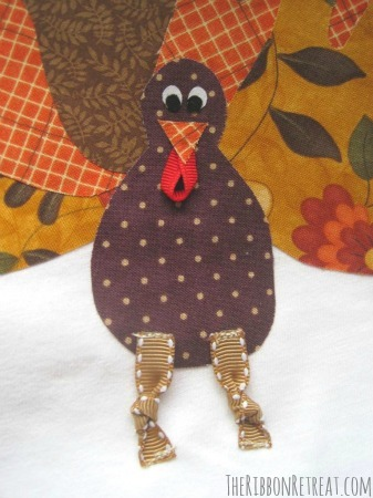 Thanksgiving Turkey Shirt - {The Ribbon Retreat Blog}