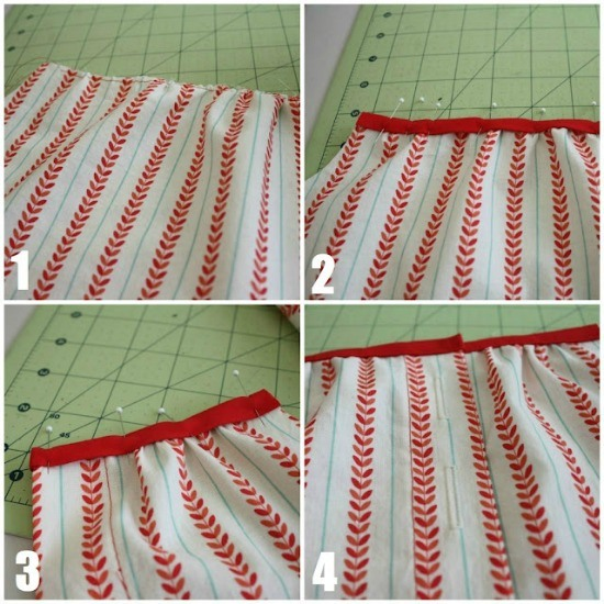 Continue sewing the top.