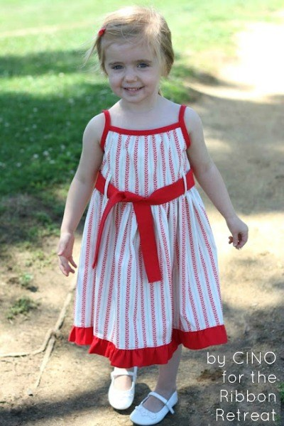 Super cute dress tutorial, make your own pattern!