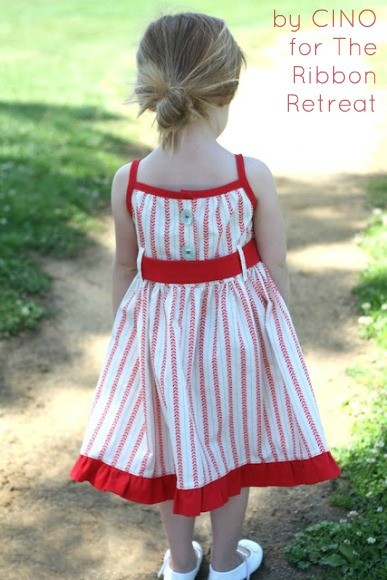 Sweet Posy Dress for a sweet little girl. Easy tutorial!
