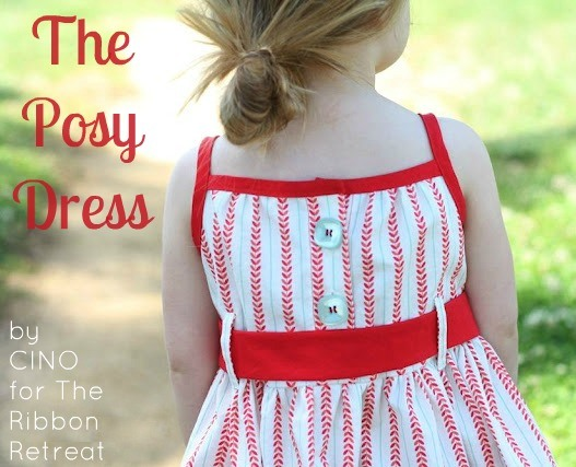 Make the sweetest dress for your little girl, no pattern needed!