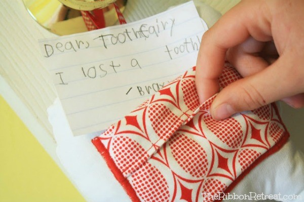 Tooth Fairy Pillow - The Ribbon Retreat Blog