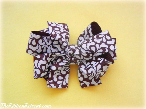 Triple Stack Bow - {The Ribbon Retreat Blog}