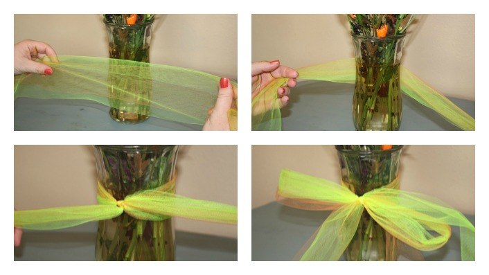 Tulle Bows The Ribbon Retreat Blog